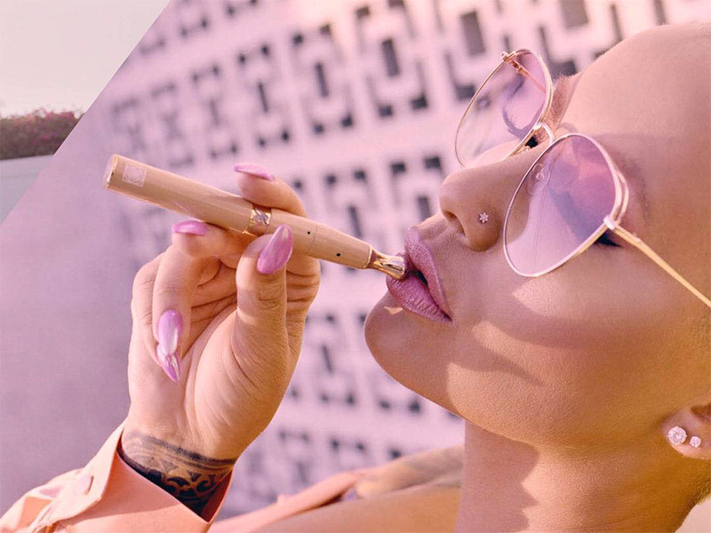Amber Rose & KandyPens Team Up For New Vaporizer Line