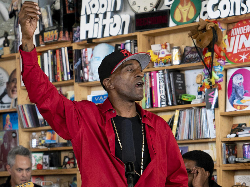 "Rakim Performs ""King's Paradise"" & Some Classics For NPR Tiny Desk Concert"