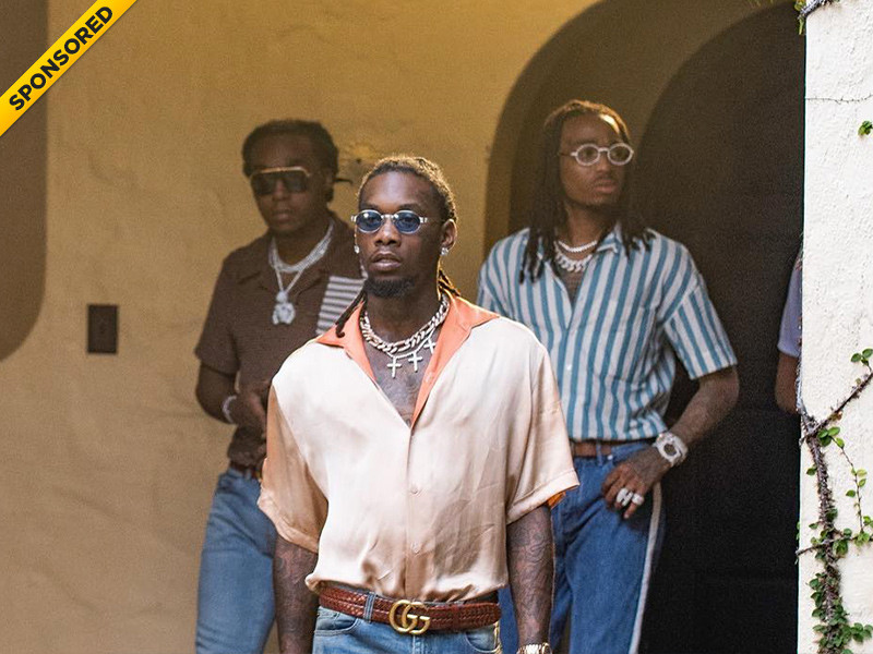 Migos Doles Out KandyPens & Diamonds In