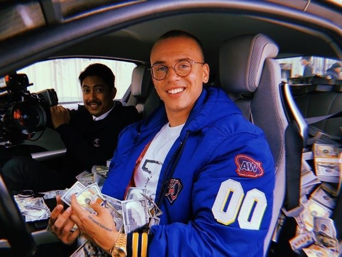 "Logic Has Money To Burn In ""Contra"" Music Video"