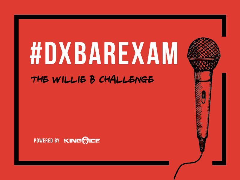 HipHopDX Presents #DXBarExam: The Willie B Challenge (Powered by King ICE)