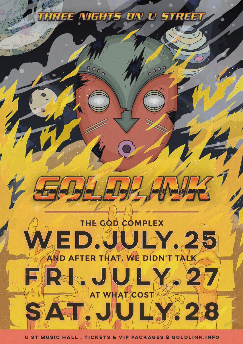 goldlink 3 nights on u street
