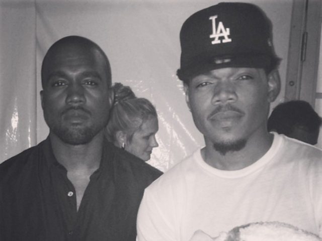Kanye West Is In Chicago Working On Chance The Rapper's Album