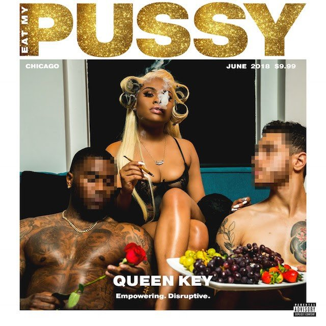 queen key eat my pussy cover art