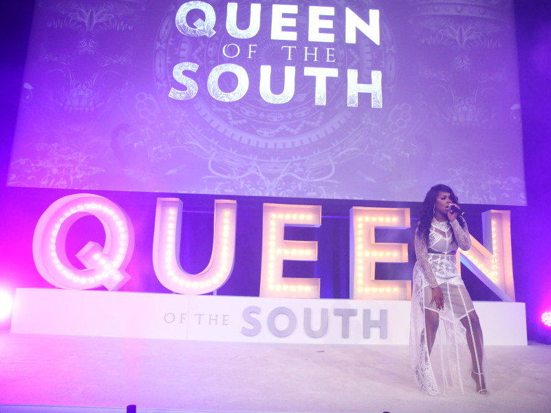 "Remy Ma Celebrates USA ""Queen Of The South"" Role With Hollywood Performance"