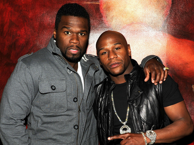 "Floyd Mayweather Outlines Why 50 Cent's Rap Career Has ""Ended"""