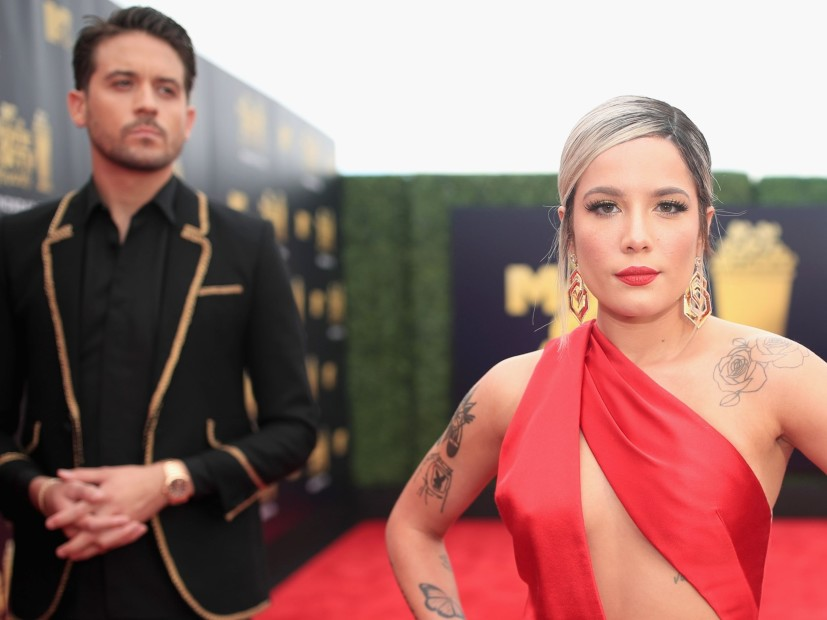 Halsey Gets Emotional During Michigan Concert Days After G-Eazy Split