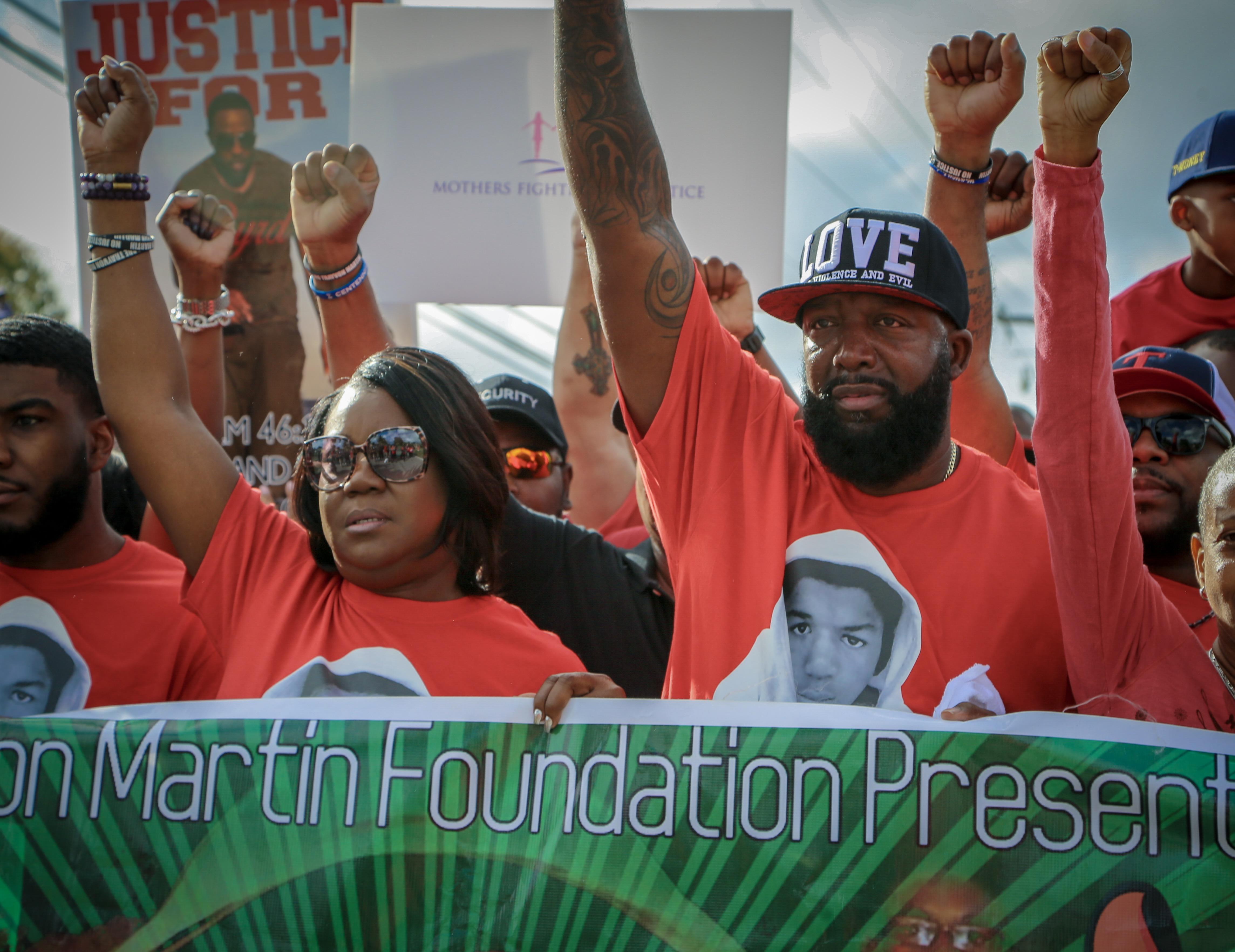 trayvon martin parents documentary rest in power