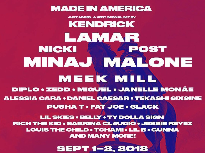 Win Tickets To 2018 Made in America Festival Courtesy Of HipHopDX