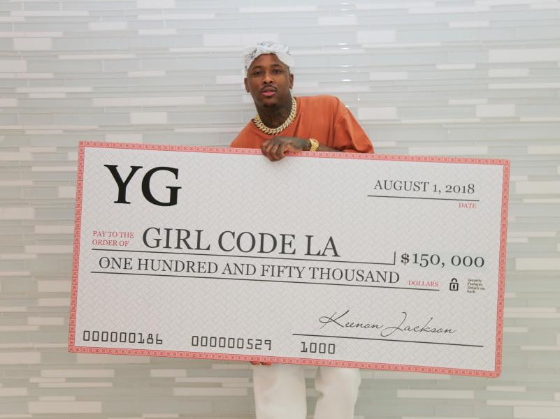 YG Donates $150K To Tech Start-Up GirlCodeLA
