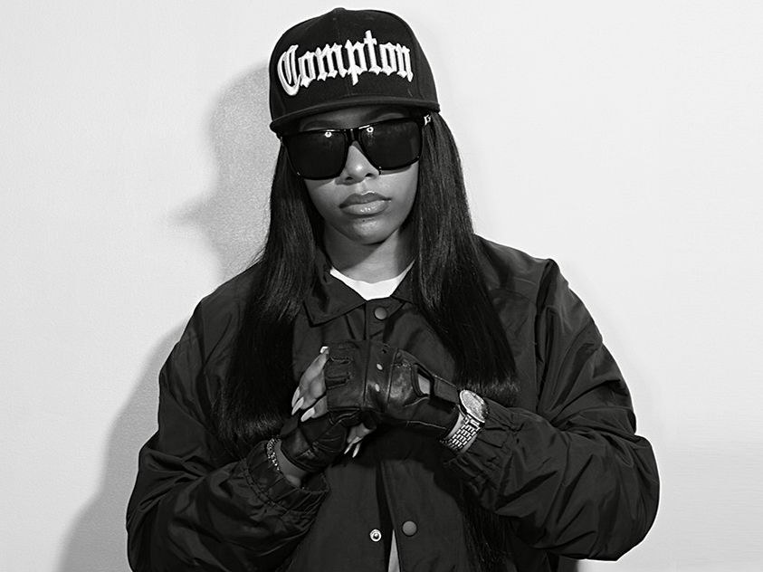 Eazy-E's Daughter Cries at the End of N. W. A Legend On the 25th Anniversary Of His Death