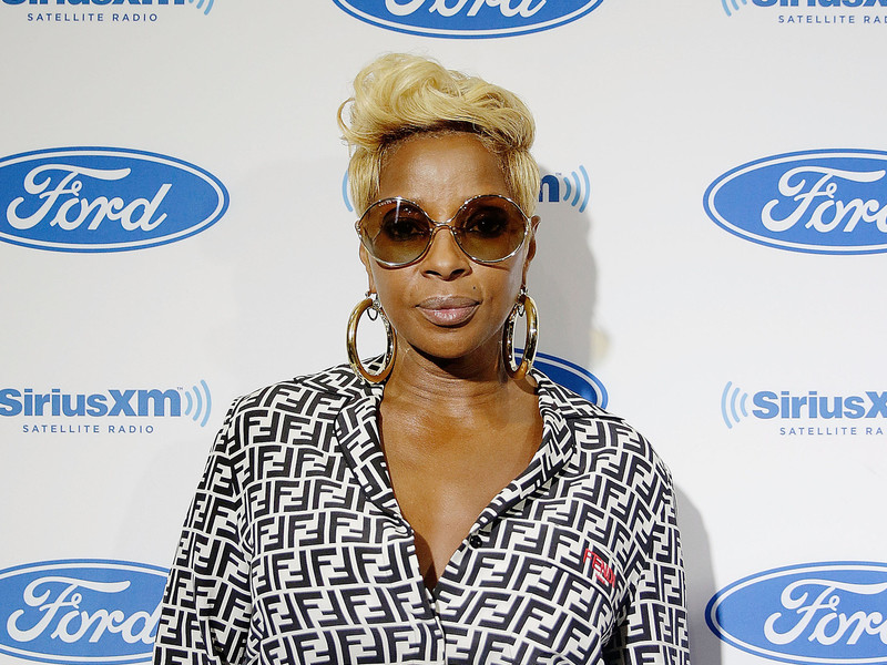 Mary J. Blige Debunks Faith Evans Fight Rumor