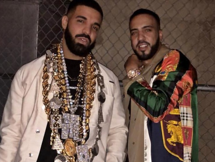 "Drake Disses Kanye West On French Montana's New Song ""No Stylist"""