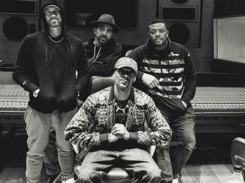 Eminem & Snoop Dogg In The Studio