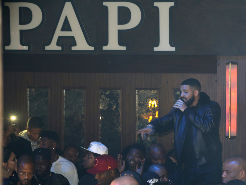 Drake Blesses Entire Poppy Nightclub With McDonald's Post Performance