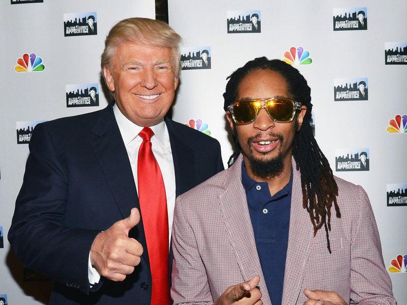 """Donald Trump Lies About Knowing Lil Jon Despite """"The Celebrity Apprentice"""" Past"""