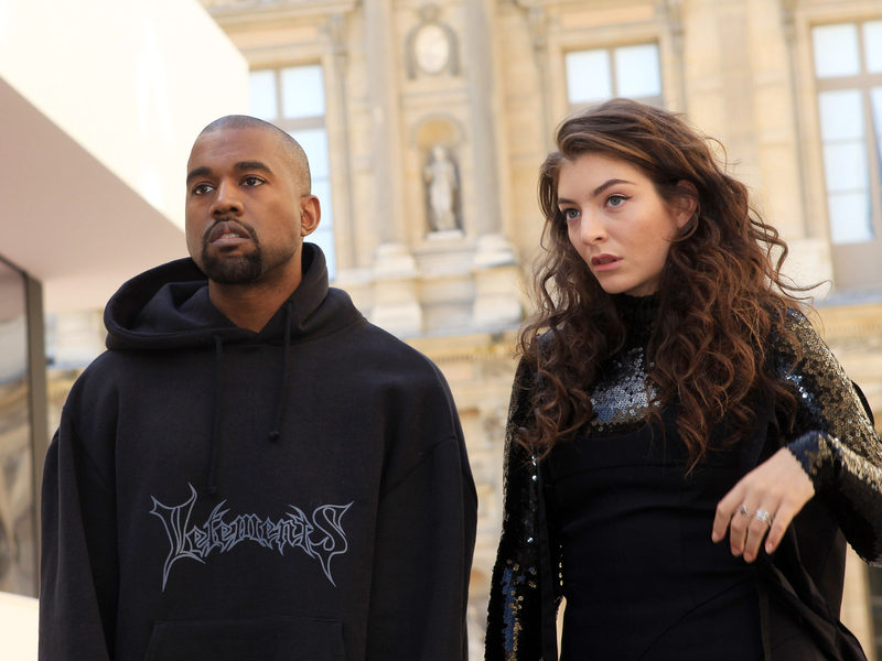 Lorde Accuses Kanye West & Kid Cudi Of Stealing Her Stage Design