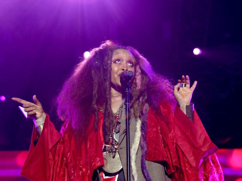 No, Erykah Badu Is Not Pregnant With Butterfly's Love Child