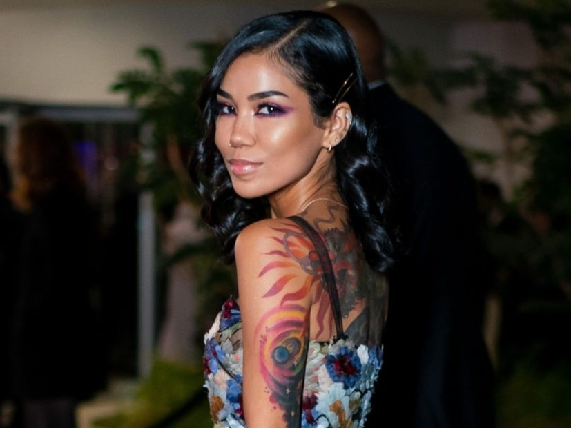 "Jhené Aiko Gets Big Sean Tattoo Covered — But It's ""All Love"""