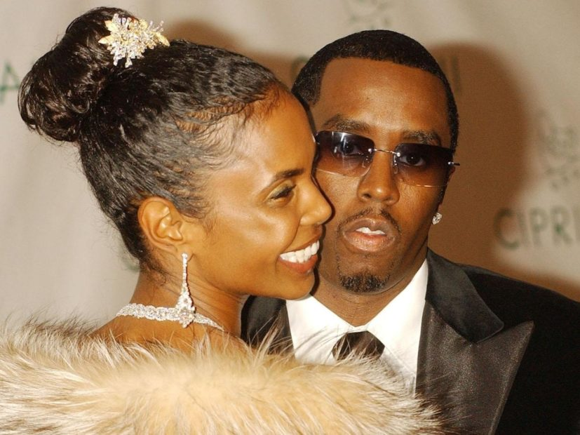 Diddy Says Final Goodbyes To Kim Porter During Georgia Funeral
