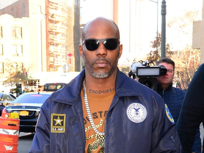 DMX Is Out Here Taking Photos With Everyone Following Prison Release