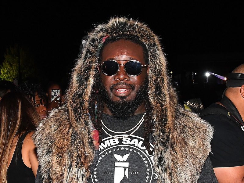 "T-Pain Denies Being In Open Marriage: ""Not Even Close"""