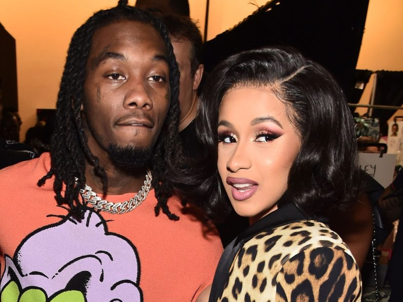 "Cardi B Shows Off Her New ""Offset"" Tattoo"