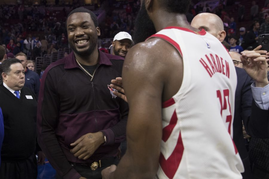 Meek Mill Slanders James Harden's LeBron James Spoof Fit