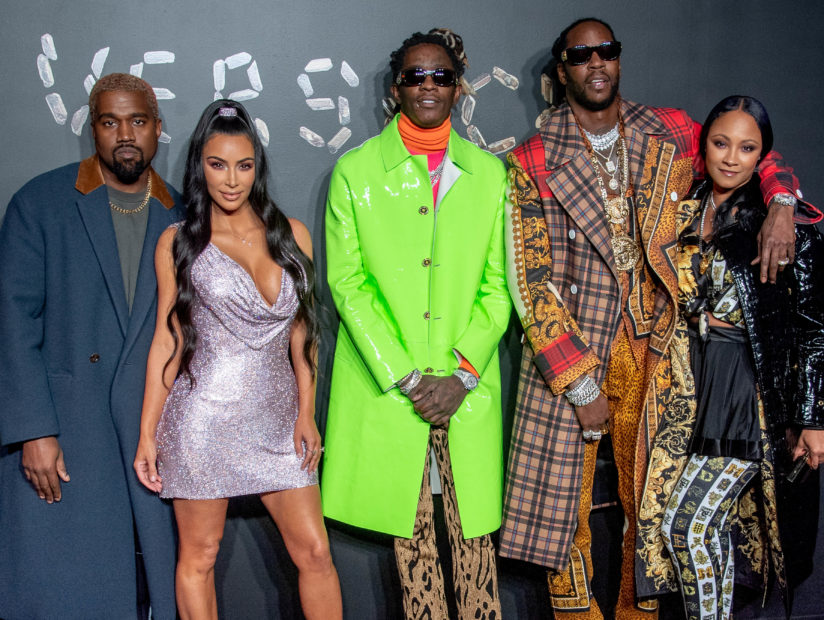 Kanye West, 2 Chainz, Young Thug & More Hit 2019 Versace Fall Fashion Show