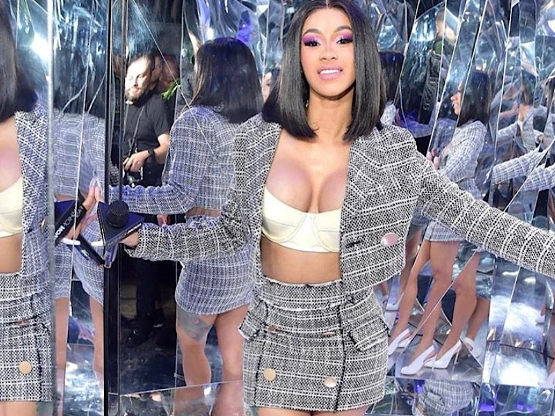 """Cardi B Aiming To Drop New Album On """"Invasion Of Privacy"""" Anniversary Date"""
