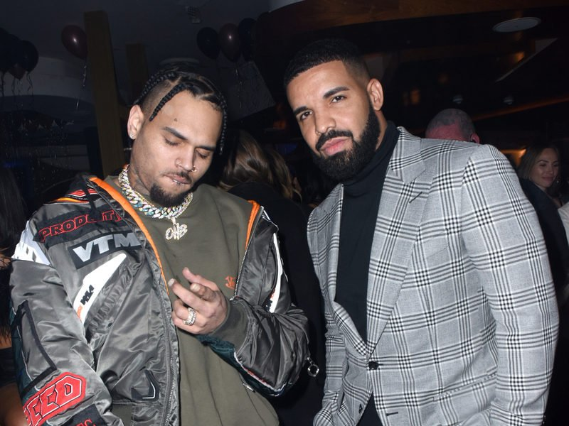 Chris Brown & Drake Prep Their Upcoming Collab