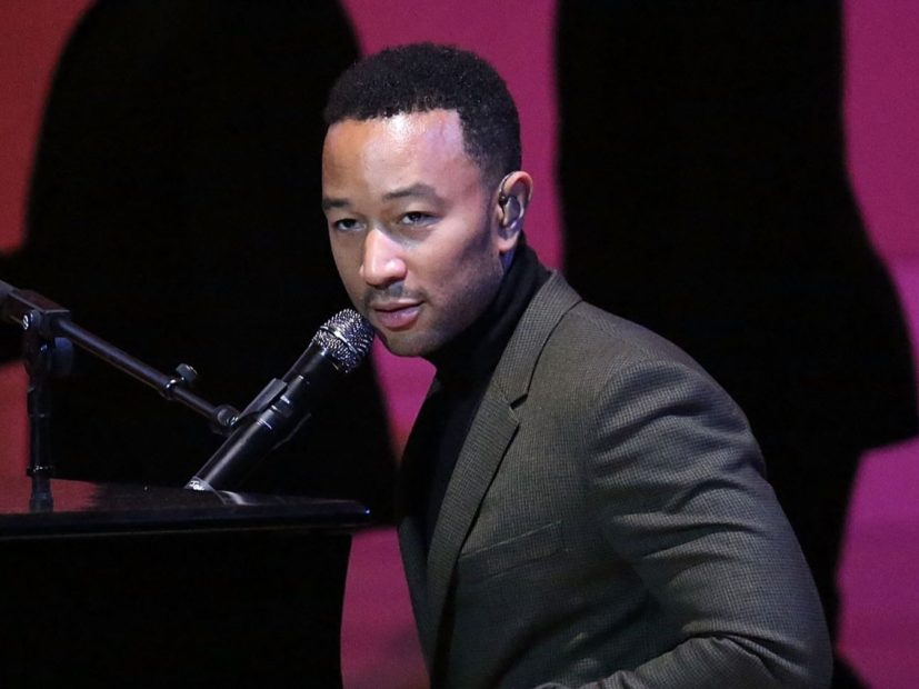"John Legend Straight Up Calls Donald Trump ""A Piece Of Shit"""