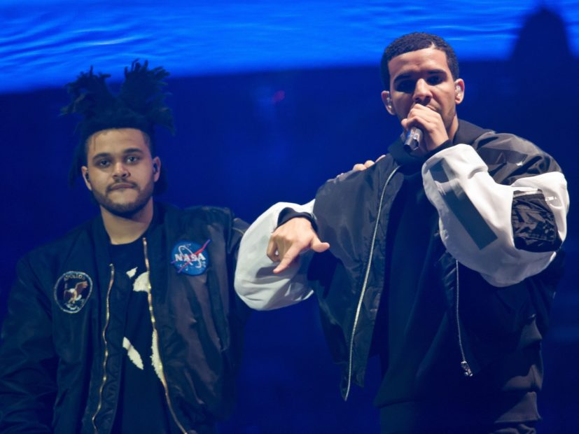 "The Weeknd Accused Of Dissing Drake On ""Lost In The Fire"" Single"