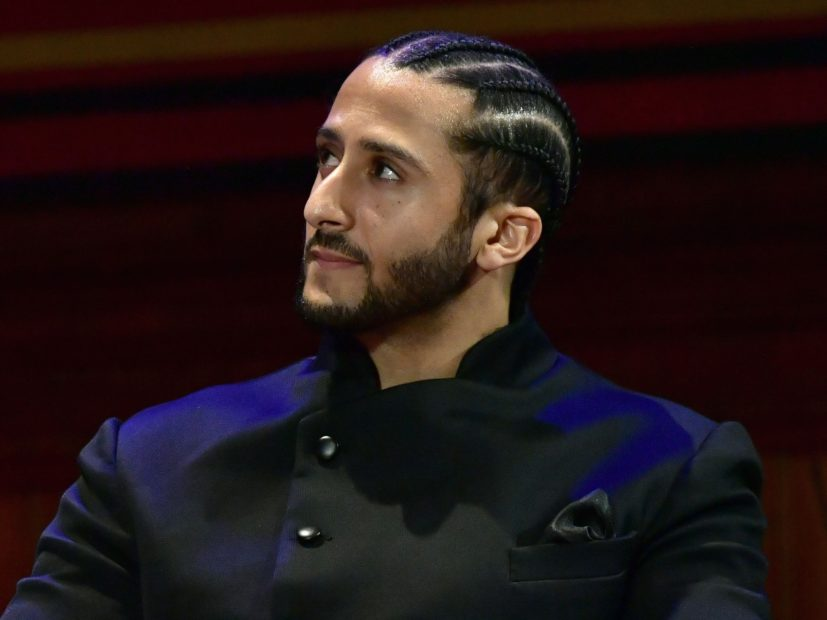 No, Colin Kaepernick Didn't Conspire With Travis Scott Ahead Of Super Bowl LIII