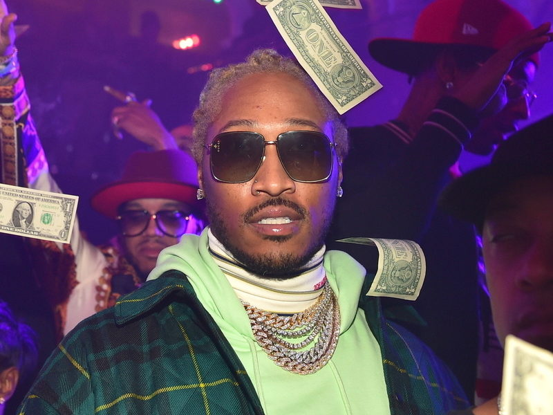 """Future's """"The WIZRD"""" Album Lands 8 Songs On Billboard Hot 100"""