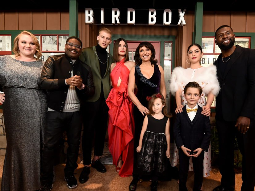 """Bird Box"" Cast Discusses Fear, Inspiration & Family"