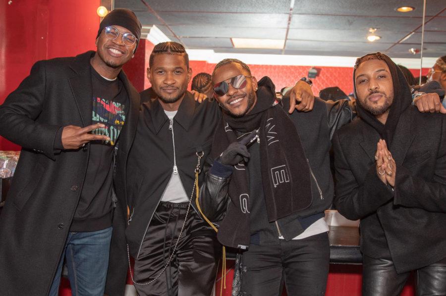Usher, Ne-Yo, Ro James & Eric Bellinger Hit Young Legends Night In