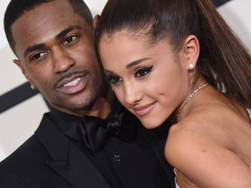 Big Sean & Ariana Grande Caught Leaving L.A. Studio Together