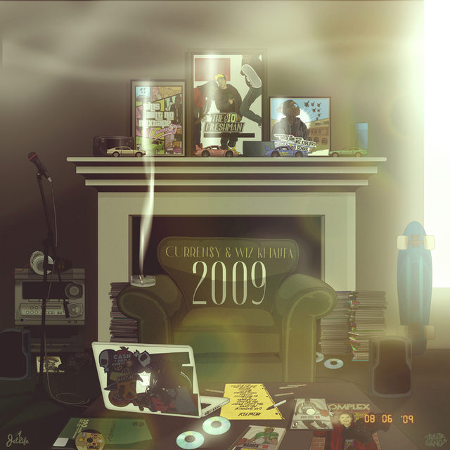 "Review: Wiz Khalifa & Curren$y's ""2009"" Album Is Nostalgic Kush"