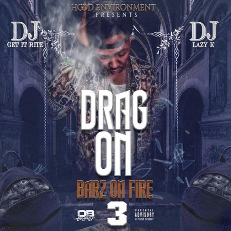 "Review: Drag-On's New Mixtape ""Barz On Fire 3"" Is A Dusty Relic"