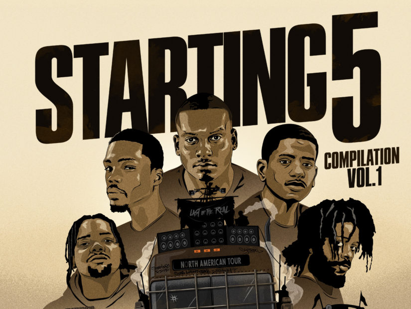 "Mass Appeal Drops ""Starting 5: Vol. 1"" LP Featuring Nas, Black Milk, Fashawn, Stro & More"
