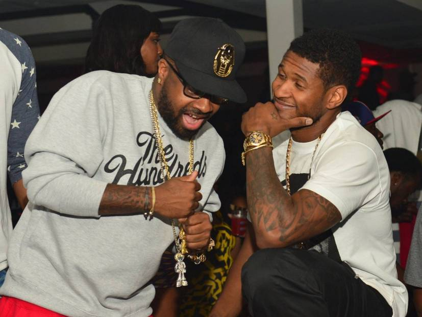 "Usher & Jermaine Dupri Aren't Hiding Their ""Confessions II"" Master Plan"