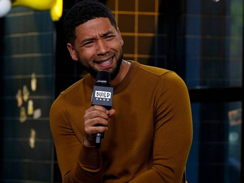 "Jussie Smollett Drops ""Bail"" Punchline In Axed ""Drop The Mic"" Episode"
