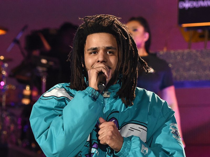 J. Cole Is Even Going Platinum With No Features For Songs