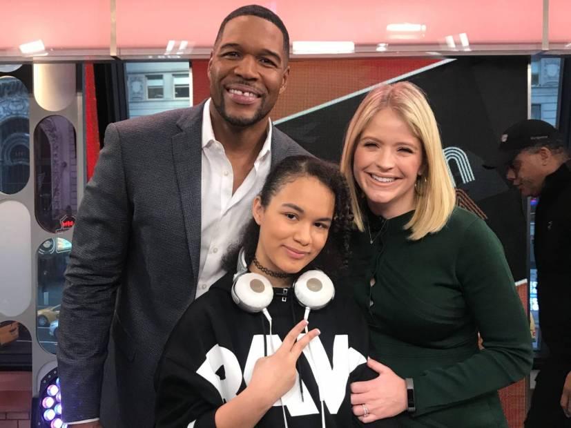DJ Spinderella Surprises 12-Year-Old DJ Kool Flash On GMA Day