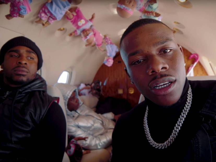 "DaBaby-Star In The Zany ""Goin Baby"" Video"