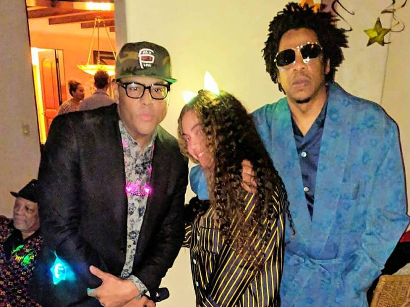 """Al B. Sure! Responds To """"Ignorance"""" Left On His Beyonce & JAY-Z Photo"""