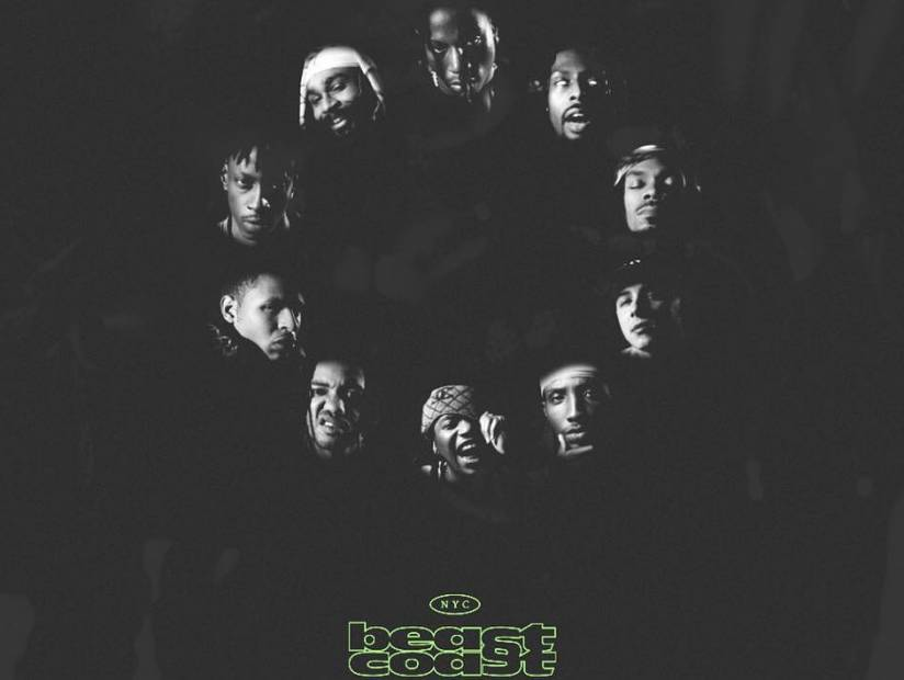 "Pro Era, Flatbush Zombies, The Underachievers Officially Form Beast Coast & Drop ""Left Hand Only"""
