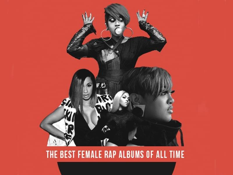 The 20 Best Rap Albums Of All Time ... From Artists Who Just Happen To Be Women