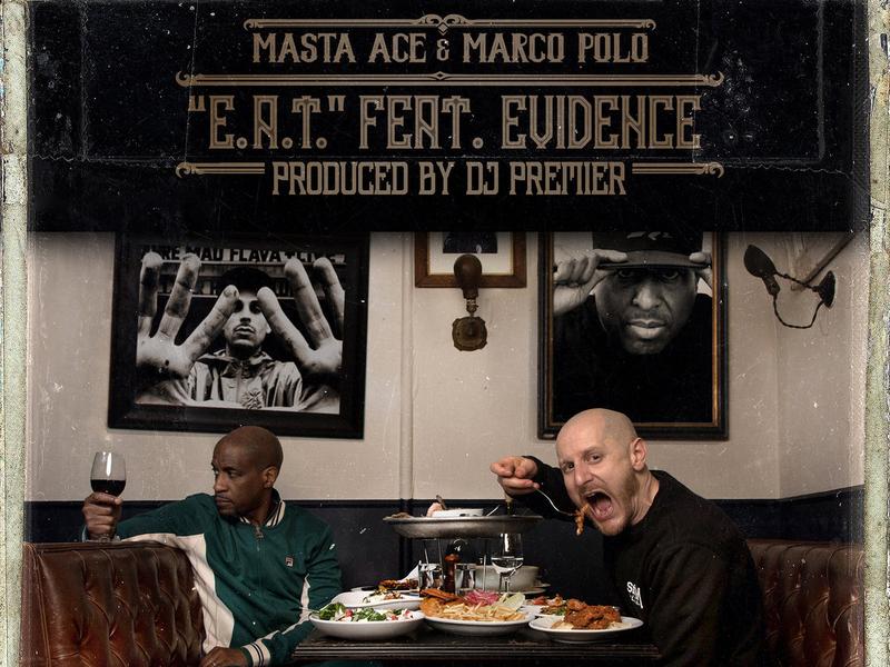 "Masta Ace & Marco Polo Enlist Evidence & DJ Premier For ""E.A.T"" Single"